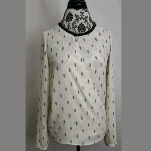 Scotch & Soda beaded blouse